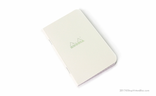 Rhodia Ice Side-Stapled Notebook - Small, Graph Paper - Click to enlarge