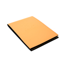 Rhodia Pad Holder Cover No. 12 - Cover Only, Orange