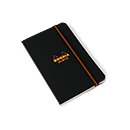 Rhodia Unlimited Notebook - Black, Lined