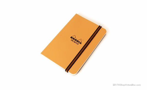 Rhodia Unlimited Notebook - Orange, Graph - Click to enlarge