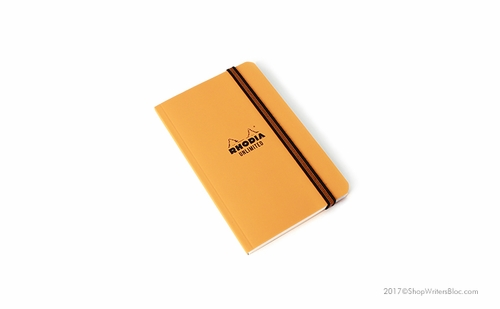 Rhodia Unlimited Notebook - Orange, Lined - Click to enlarge