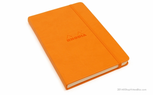 Rhodia Webnotebook Medium, Orange - Blank - Click to enlarge