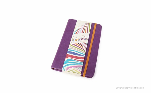 Rhodiarama Webnotebook - A6 Small, Purple, Lined - Click to enlarge