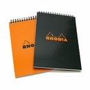 Rhodia Wirebound Pad - Medium, Orange, Dot Grid
