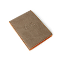 Rhodiarama Pad Holder No. 12 with Notepad - Taupe