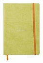 Rhodiarama Soft Cover Notebook - Medium, Anise Green, Lined