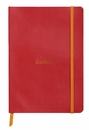Rhodiarama Soft Cover Notebook - Medium, Poppy, Lined