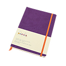 Rhodiarama Soft Cover Notebook - Medium, Purple, Dot Grid