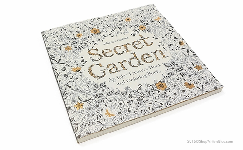 Secret Garden - An Inky Treasure Hunt and Coloring Book - Click to enlarge