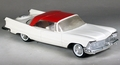 1958 Imperial Hardtop Promo, White and Red