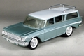 1961 Rambler Classic Station Wagon Promo, Silver-Green with White Top, Side Spear, and Seat Inserts