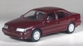 1989 Ford Taurus SHO 4 Door, Currant Red