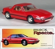 1988 Buick Reatta, Red