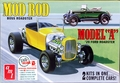 """AMT 1929 Ford Model A Roadster """"Mod Rod"""" Double Kit, Build Two Complete Cars (Yellow)"""