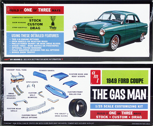 """1949 Ford Coupe, Stock, Custom or """"Gas Man"""" Gasser"""