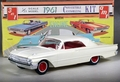 AMT 1961 Ford Sunliner Convertible with Up-Top, 3 in 1 Built Kit with Box