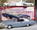 AMT 1962 Mercury Monterey Convertible, 3 in 1 Built Kit with Box