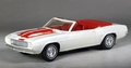 AMT 1969 Camaro SS RS Convertible Indy Pace Car Built Kit