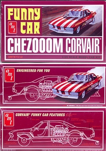 """AMT Corvair """"CheZooom"""" Mid-Engined Funny Car"""