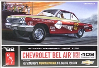 "AMT Joe Gardner ""Northwind"" 1962 Chevy Bel Air 409 Hardtop A/Stock or Factory Stock � Chevy Bel Air 409"
