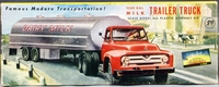 Aurora Approximately 1/64 Scale Ford Tractor with 5000-Gallon Dairy Milk Tanker Trailer