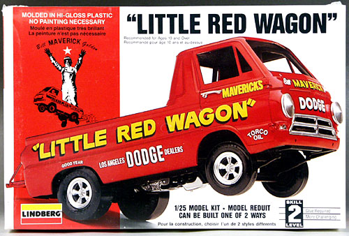 Golden 1964 dodge a 100 pickup stock or little red wagon wheelstander