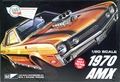 MPC 1970 AMX, Stock, Street Machine or Drag, 1/20 Scale