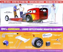 """MPC """"Jawbreaker"""" Bantam Bodied Front Engined Dragster"""