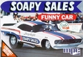 """MPC Larry Huff """"Soapy Sales"""" Challenger Funny Car"""
