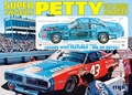 """MPC Richard Petty #43 """"STP"""" '74 Dodge Charger, Big 1/16 Scale, Molded in Petty Blue  (In Stock)"""