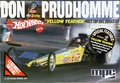 """MPC """"Yellow Feather"""" Don """"Snake"""" Prudhomme 1972 """"Hot Wheels"""" Front Engined Top Fuel Dragster"""