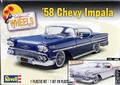 Revell 1958 Chevy Impala Hardtop with American Graffiti Decals