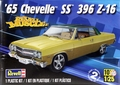 Revell 1965 Chevelle SS 396 Z-16, 2 in 1, Stock or Custom