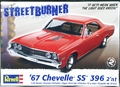 Revell 1967 Chevelle SS 396 Hardtop 2 in 1, Stock or Custom