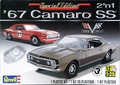 Revell 1967 Chevy Camaro SS 396 Coupe, Stock or Road Racer