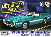Revell 1969 Mustang Shelby GT500 Convertible