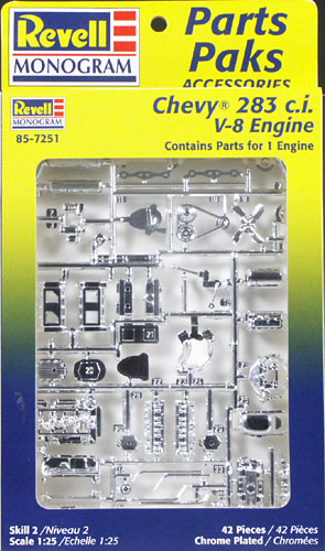 Image result for revell chevy engine parts pack