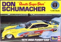 "Revell Don Schumacher ""Super Shoe"" 1974 Vega Funny Car"