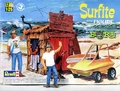 """Revell Ed Roth """"Surfite"""" and Tiki Hut with Pre-Painted Resin Ed Roth Figure"""