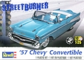 Revell 1957 Chevy Bel Air Convertible with Boot and Up-Top and Optional Continental Kit