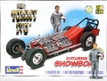 """Revell TV Tommy Ivo """"Showboat"""" 4-Engined Buick Dragster with Pre-Painted Resin Tommy Ivo Figure"""