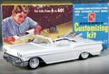 SMP (AMT) 1958 Chevy Impala Convertible 3 in 1 Built Kit with Box