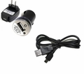 Replacement Charging Kit for Xpressway - 5' USB Cable, AC and Auto Adapters