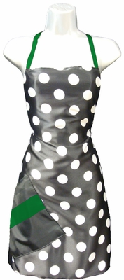 Salon Apron Big Dot + Green