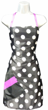 Salon Apron Big Dot + Pink