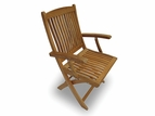 Sailor Teak Folding Chair by Royal Teak Collection - SAFC