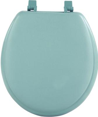 17″ Round Soft Toilet Seat (Light Green)