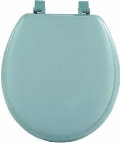 "17"" Round Soft Toilet Seat (Light Green)"