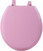 "17"" Round Soft Toilet Seat (Rose)"