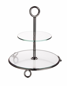 2 Tier Server/Glass Ellipse